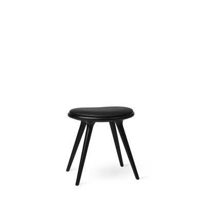 Low Stool Black Beech Табурет