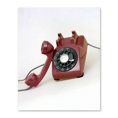 An Old Telephone Постер