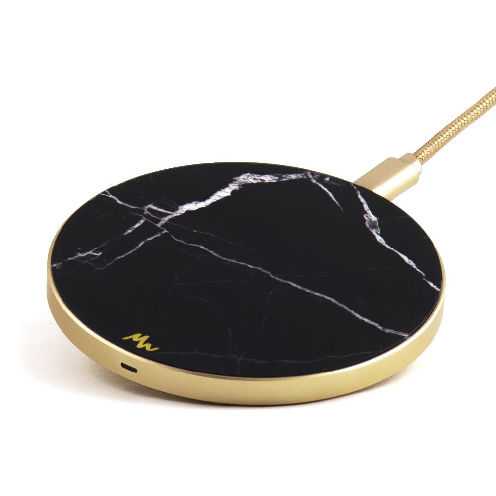 MW Black Marble - Gold Зарядное устройство фото