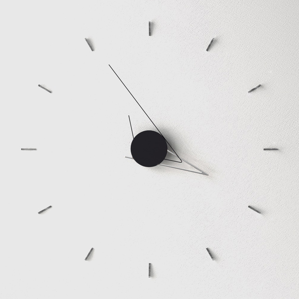 Silo Silver Настенные часы фото