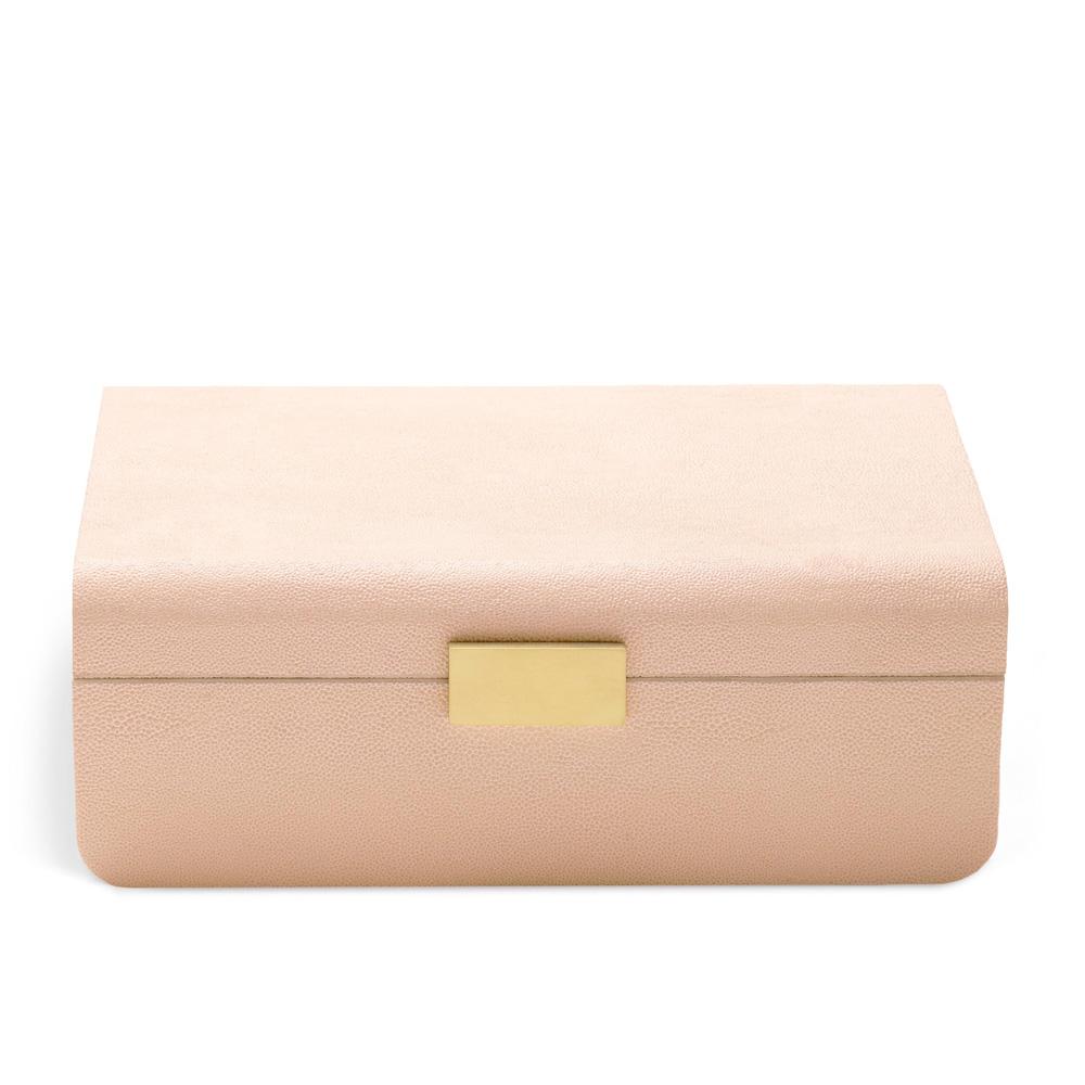 Modern Shagreen Blush Шкатулка фото