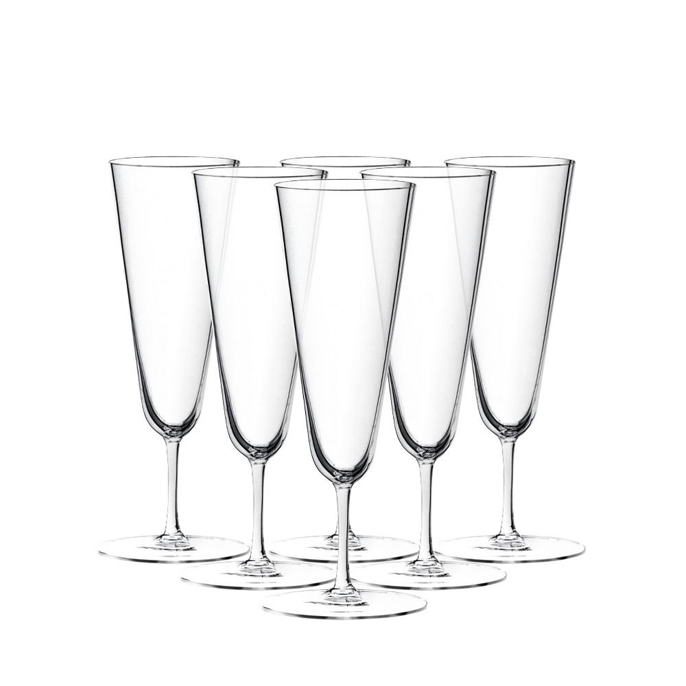 No.4 Бокалы для шампанского 6 шт фото