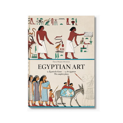 Книга Prisse d`Avennes. Egyptian Art