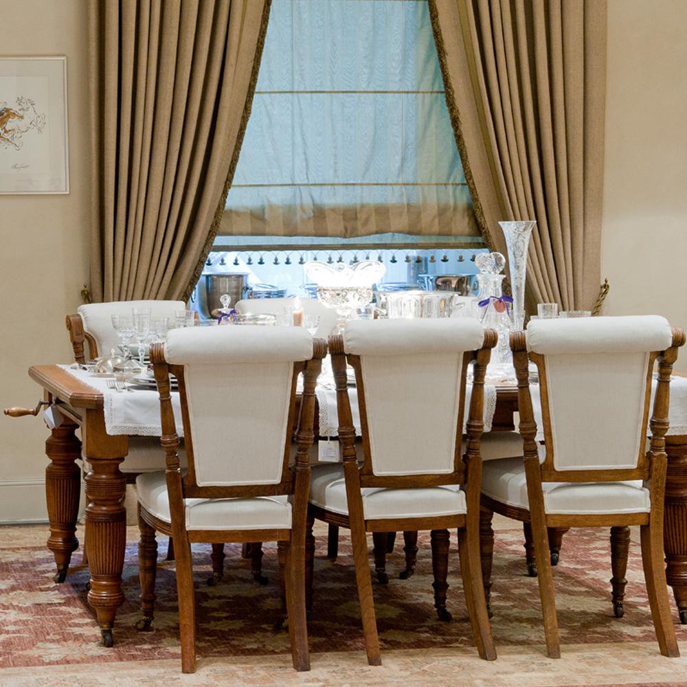 Стол обеденный + 6 стульев