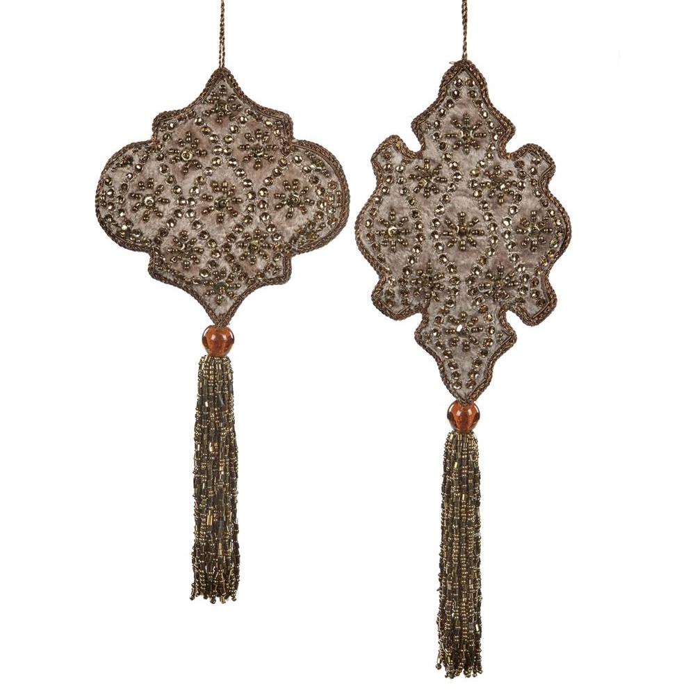 Medallion Набор из 2 новогодних украшений