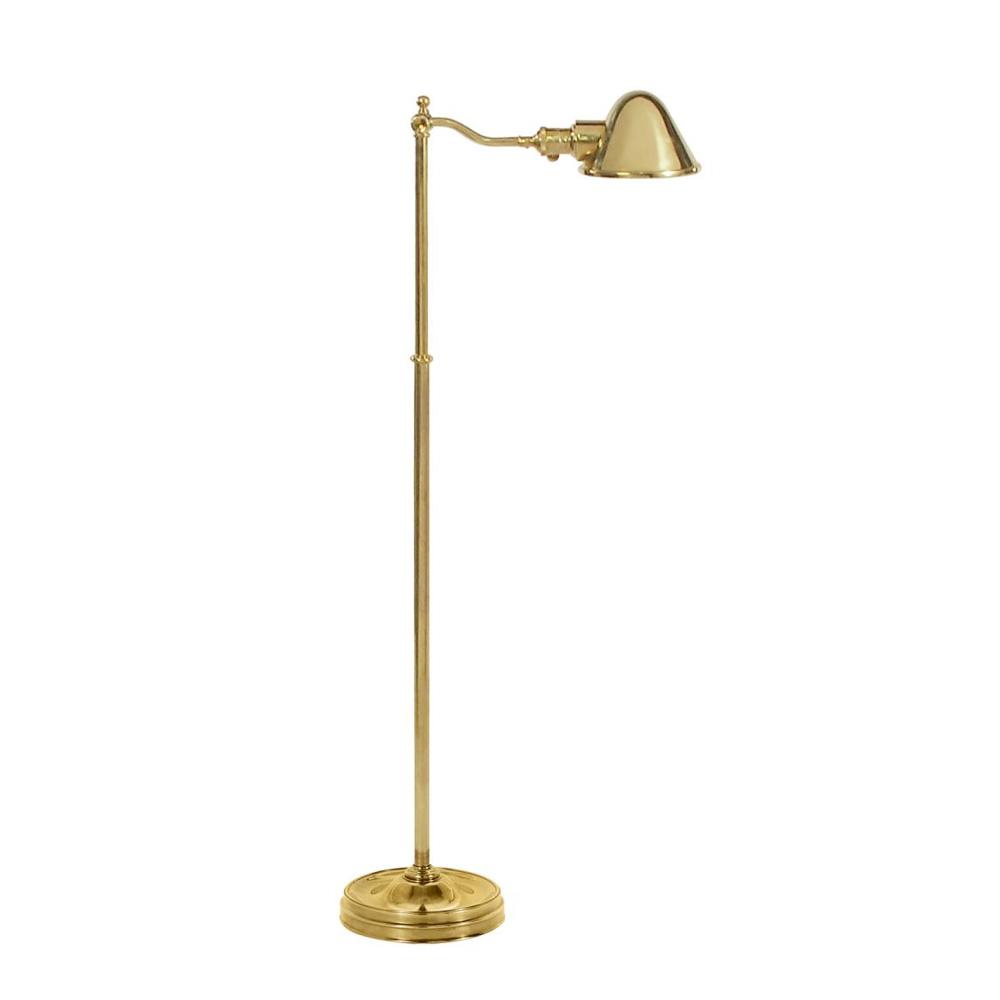 Hayward Brass Напольная лампа фото