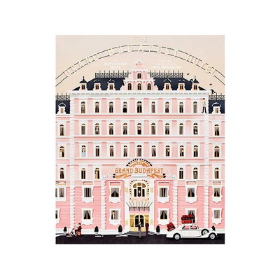 Книга The Wes Anderson Collection: The Grand Budapest Hotel