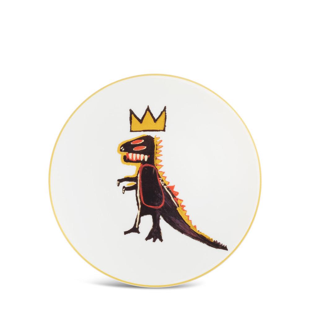 Jean-Michel Basquiat Тарелка декоративная Gold Dragon фото