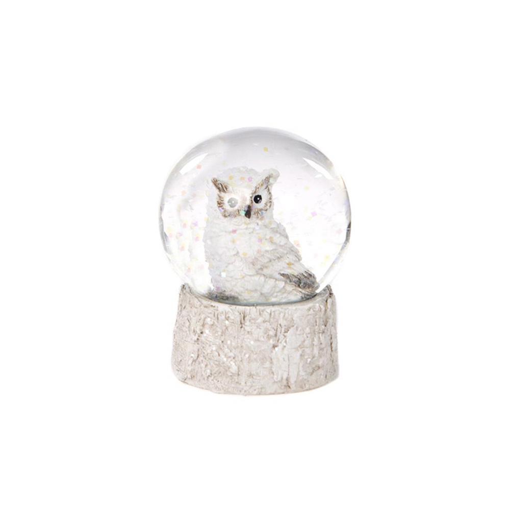 Winter Owl Снежный шар 6 см
