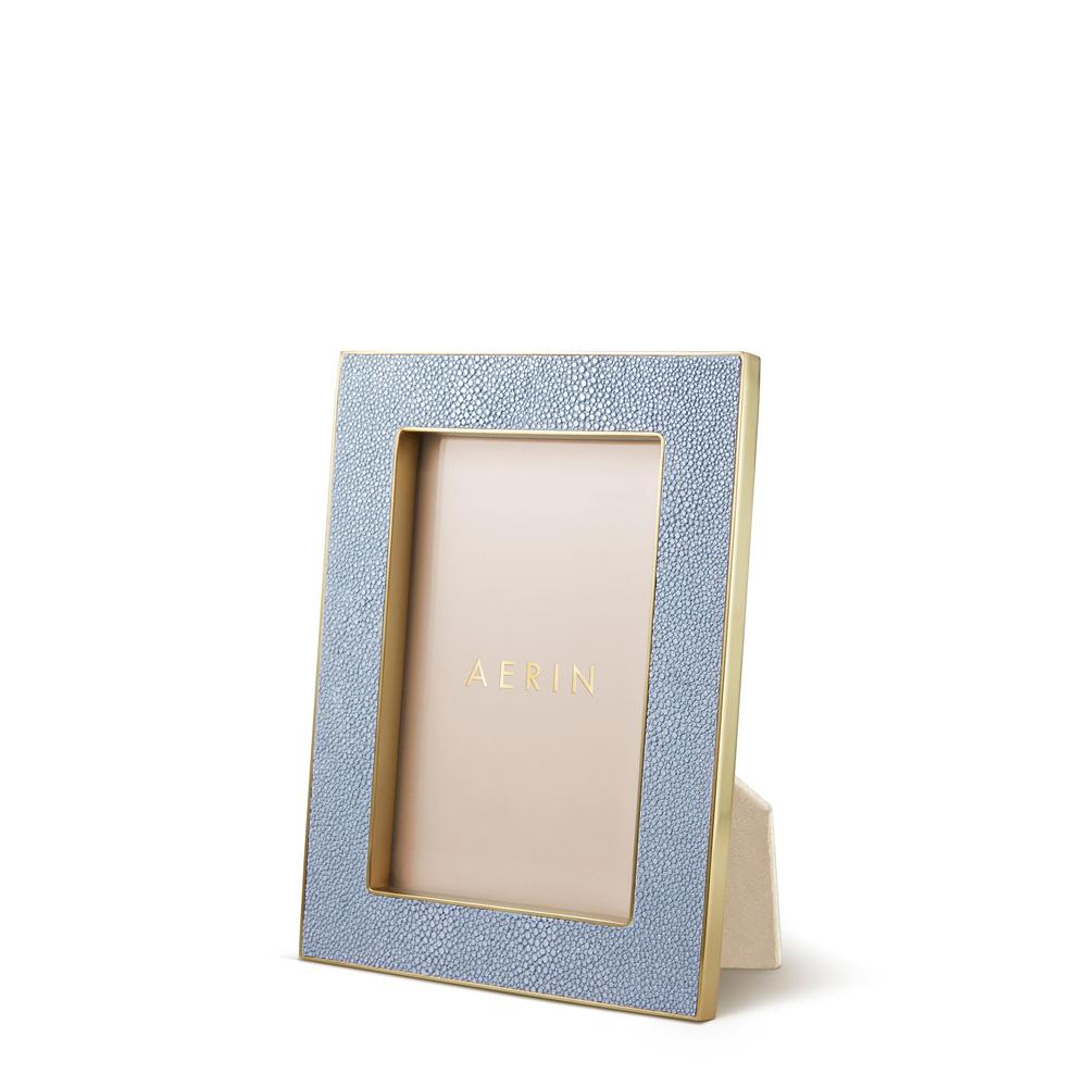 Classic Shagreen Blue Рамка для фото 10х15 фото