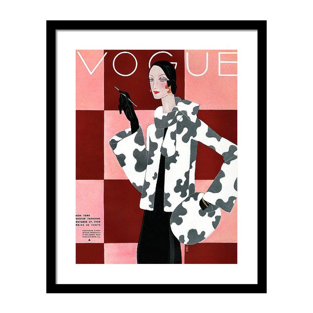 Vogue October 27th, 1930 Постер фото