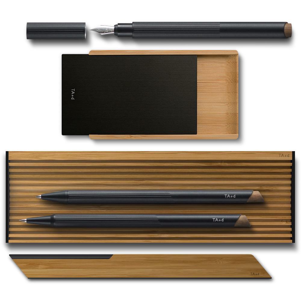 Bamboo Black II Набор для рабочего стола фото