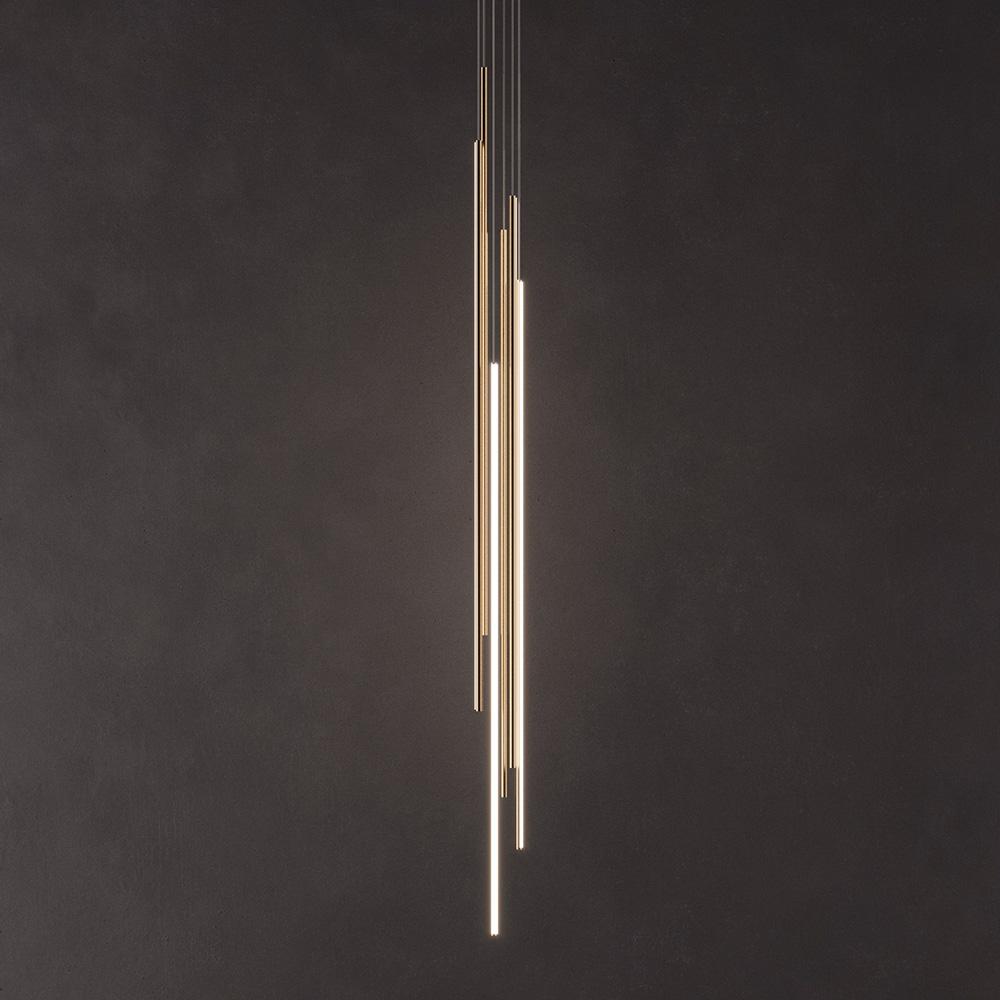 THIN Vertical Suspension Подвесной светильник фото