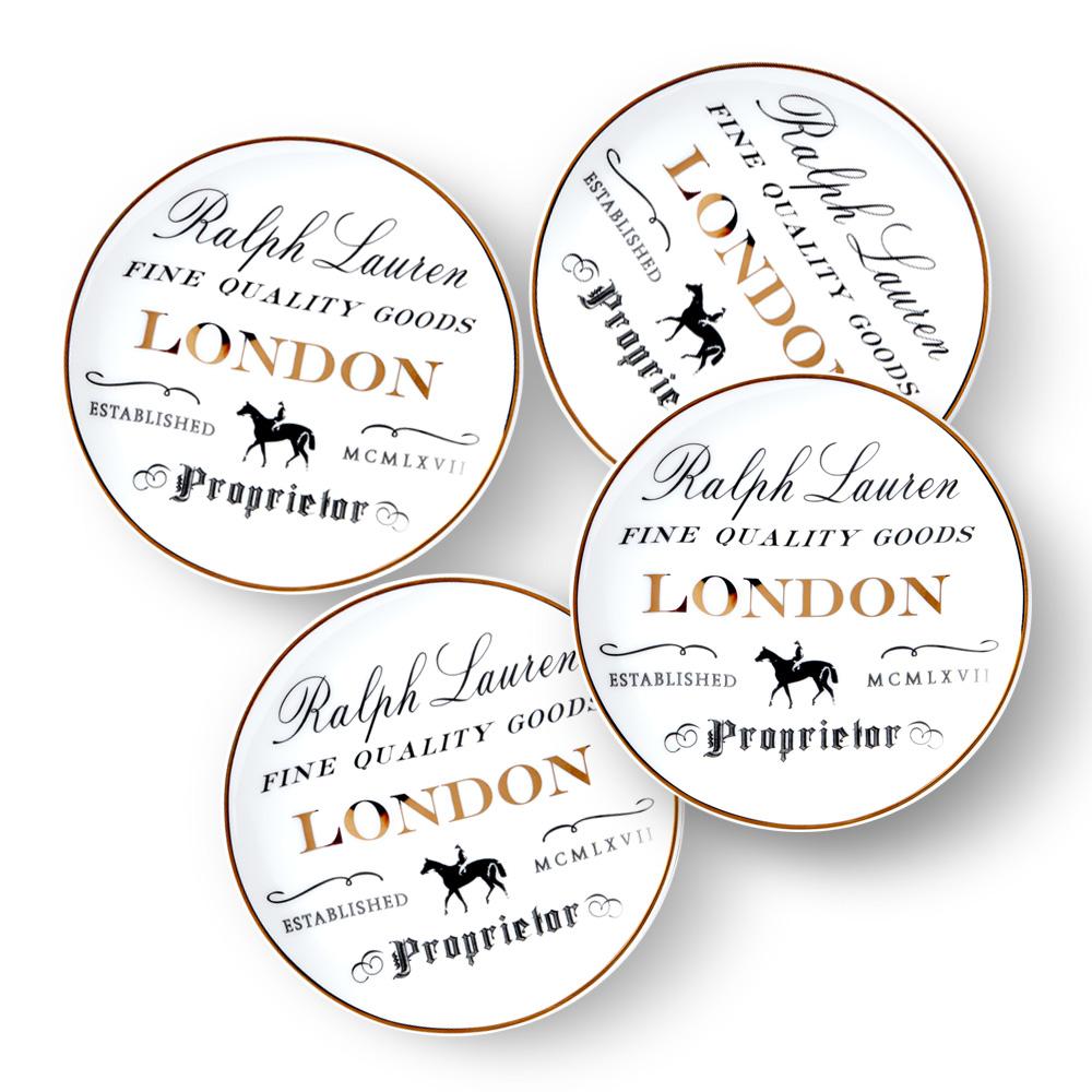 RL London Набор тарелок для закусок фото