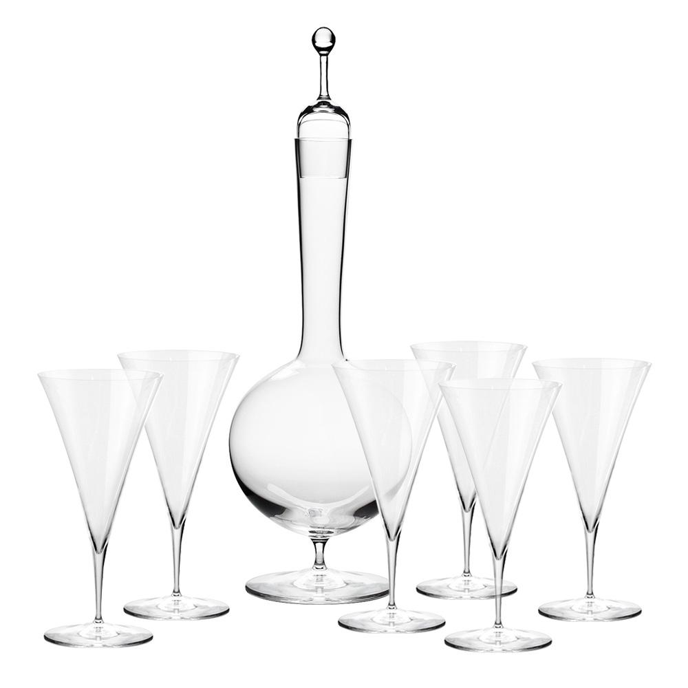 Ambassador Декантер и 6 бокалов для вина фото