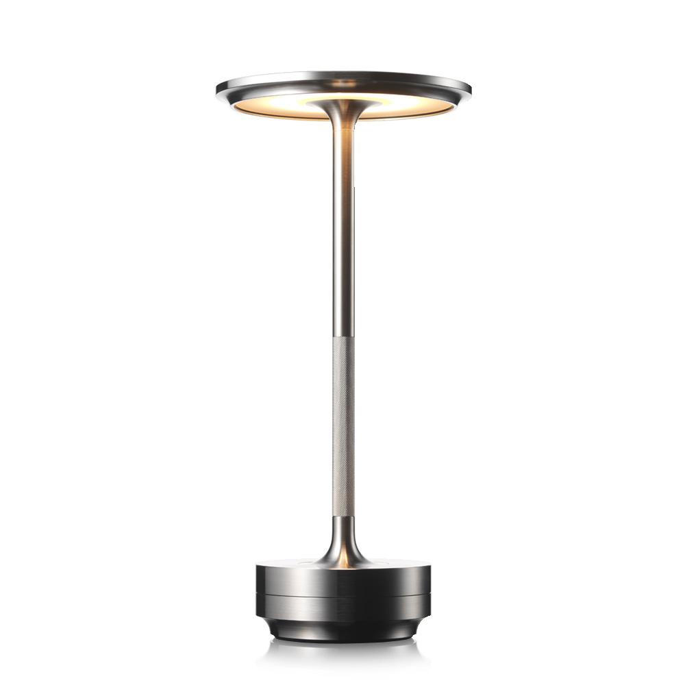 Turn Steel Настольная лампа фото