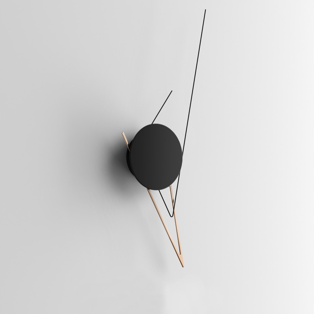 Silo Copper Настенные часы фото