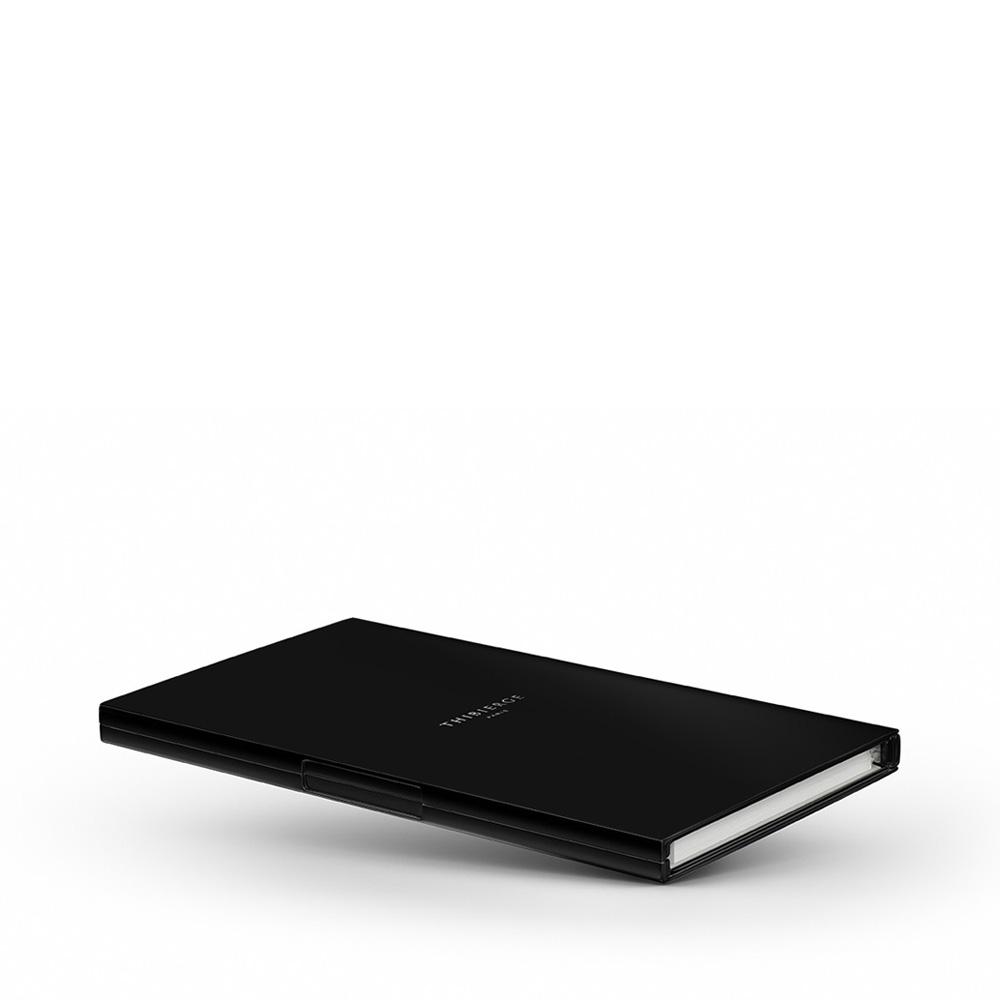Le Carnet Black Matt - Nickel/White Записная книжка M фото