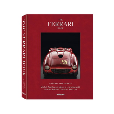 Книга The Ferrari Book, Passion for Design