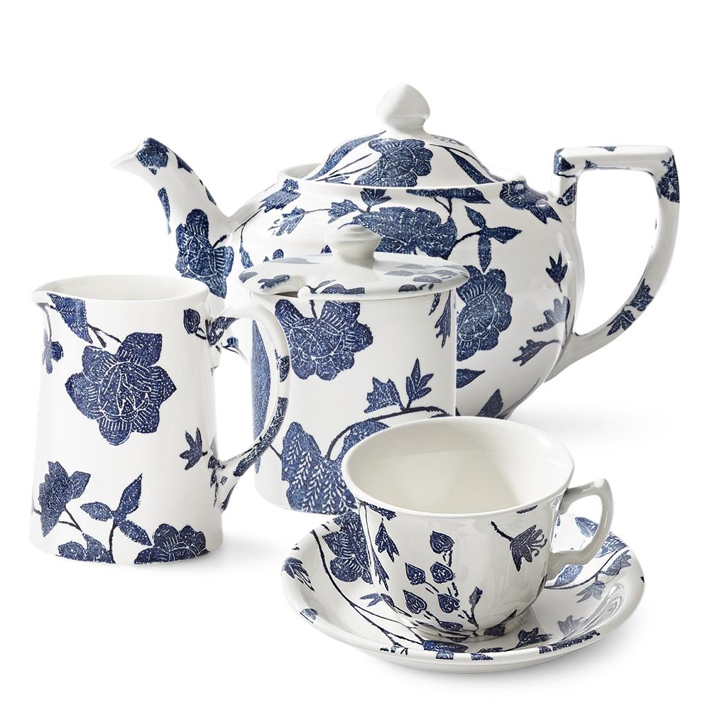 Garden Vine Indigo Чайный сервиз на 6 персон фото