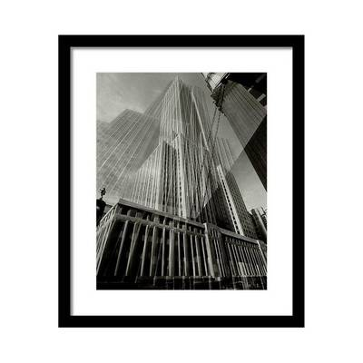 Multiple Exposure of the Empire State Building Постер